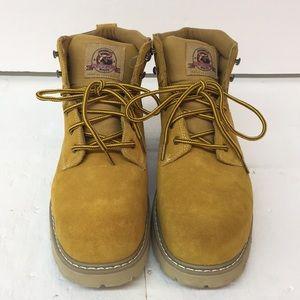 EUC Brahma Boots Oil Resistant Size 14 Men's